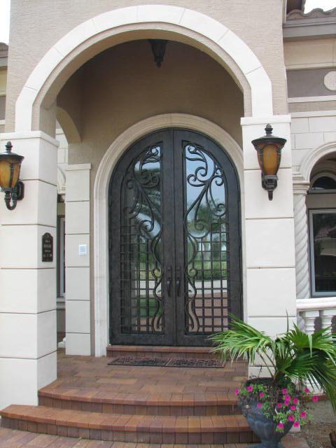 Custom Iron Doors and Rails